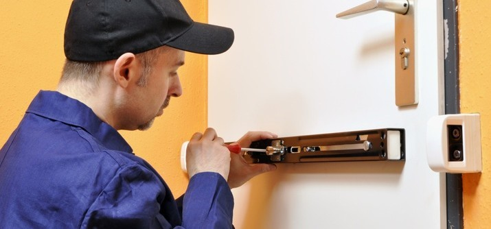A professional locksmith